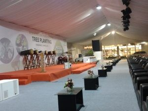 Rental Tenda Roder Dekorasi Event AEON MALL BSD