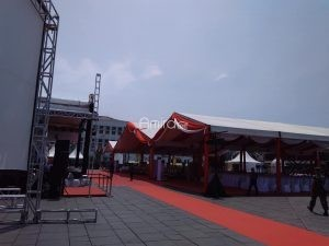 Tenda Rigging Outdoor