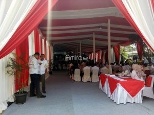 Tenda Pesta Dekorasi Full AC