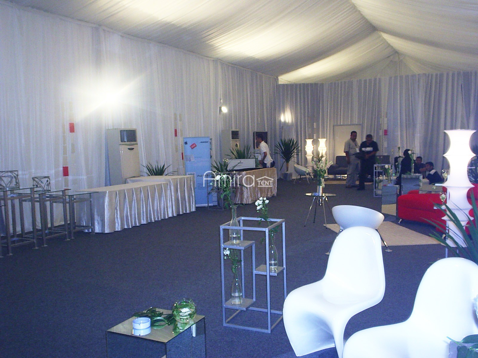 Tenda Roder VIP Kantor Marketing